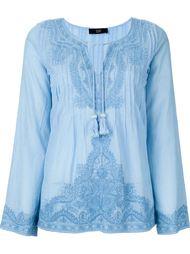 блузка с вышивкой  Steffen Schraut