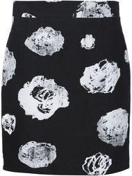 короткая юбка с цветочным принтом Proenza Schouler