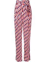 брюки с завышенной талией 'Arrow Head' Marc Jacobs