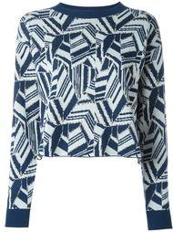 свитер с геометрическим узором  See By Chloé