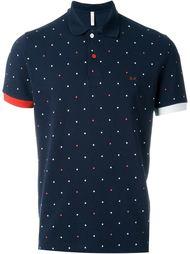 футболка-поло в горох 'Pois' Sun 68