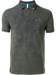 washed colour 'Super Vintage' polo shirt Sun 68