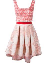 жаккардовое платье  Christian Pellizzari