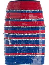 юбка с пайетками Lanvin