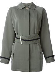 легкая куртка с поясом Versace Vintage