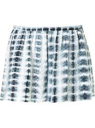 eyelet tie-dye shorts Thakoon