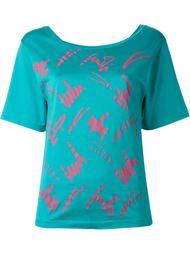 футболка с графическим принтом Fendi Vintage