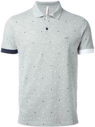 sleeve detail dot pattern 'Pois' polo shirt Sun 68