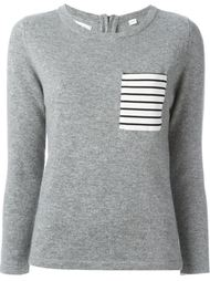 breton detailing sweater Chinti And Parker