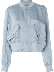 укороченная куртка-бомбер  Mm6 Maison Margiela
