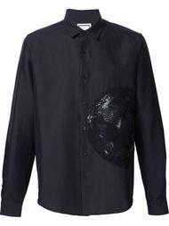 рубашка с вышивкой Wooyoungmi