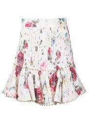 юбка с цветочным принтом Zimmermann