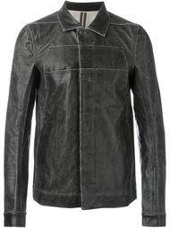 куртка с потертой отделкой Rick Owens DRKSHDW