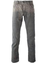 зауженные книзу джинсы с линялым эффектом  Rick Owens DRKSHDW