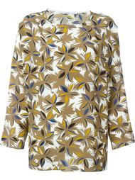 printed top Agnona