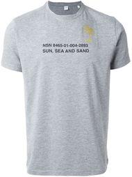 футболка с принтом  Aspesi