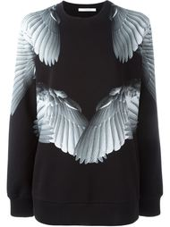толстовка с принтом крыльев Givenchy
