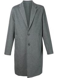 однобортное пальто  'Jersey Topcoat' Wooyoungmi