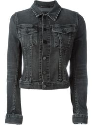 cropped denim jacket Alexander Wang