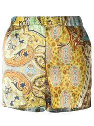 paisley print shorts Ermanno Gallamini