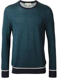 свитер с контрастной окантовкой  Burberry London