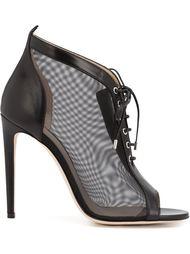 туфли на шнуровке с прозрачными панелями Chloe Gosselin