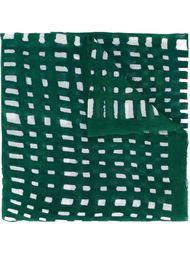 шарф с геометрическим принтом Faliero Sarti