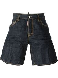 denim shorts Dsquared2