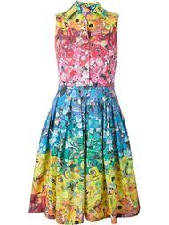 платье-рубашка с цветочным принтом    Ultràchic