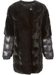пальто с дутыми рукавами  Liska