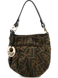 сумка-тоут с логотипом 'FF' Fendi Vintage