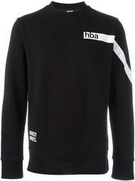 свитер с принтом логотипа Hood By Air