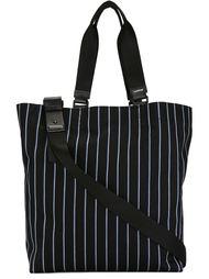 сумка-тоут в полоску Lanvin