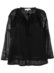 блузка с кружевными деталями Iro