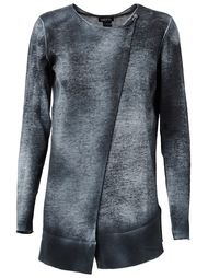 свитер с запахом на пуговицу Avant Toi