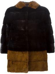меховая куртка с капюшоном Blancha