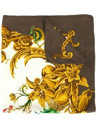 """платок с принтом в стиле """"барокко"""" Christian Dior Vintage"""