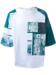 contrast sleeve T-shirt Liam Hodges