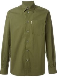 cuff detail button down shirt Maison Kitsuné