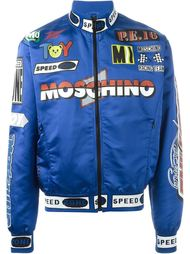 спортивная куртка-бомбер  Moschino