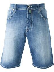 джинсовые шорты с потертой отделкой Jacob Cohen