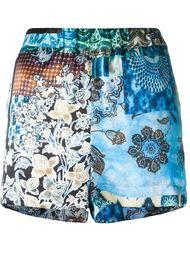 floral print shorts Ermanno Gallamini