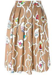 юбка с принтом   Ultràchic