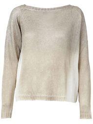 свитер с отделкой металлик Avant Toi