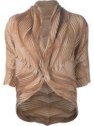 wave pleated jacket Issey Miyake