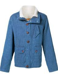 shearling denim jacket Outerknown