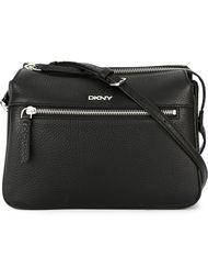 double zip crossbody bag DKNY