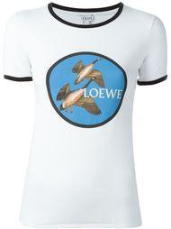 футболка с нашивкой  Loewe