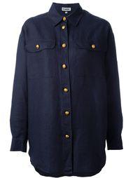 рубашка свободного кроя Jil Sander Vintage