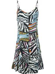платье с комбинированным принтом Jean Paul Gaultier Vintage